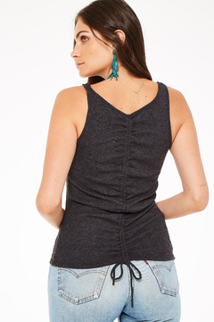 Project Social T Ruched Back Tank - Product List Image