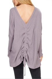 Maronie  Ruched Back Thermal - Side cropped