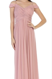 Cindy Collection Ruched Bridesmaid Dress - Product Mini Image