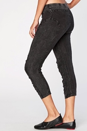XCVI Ruched Crop Legging - Front full body
