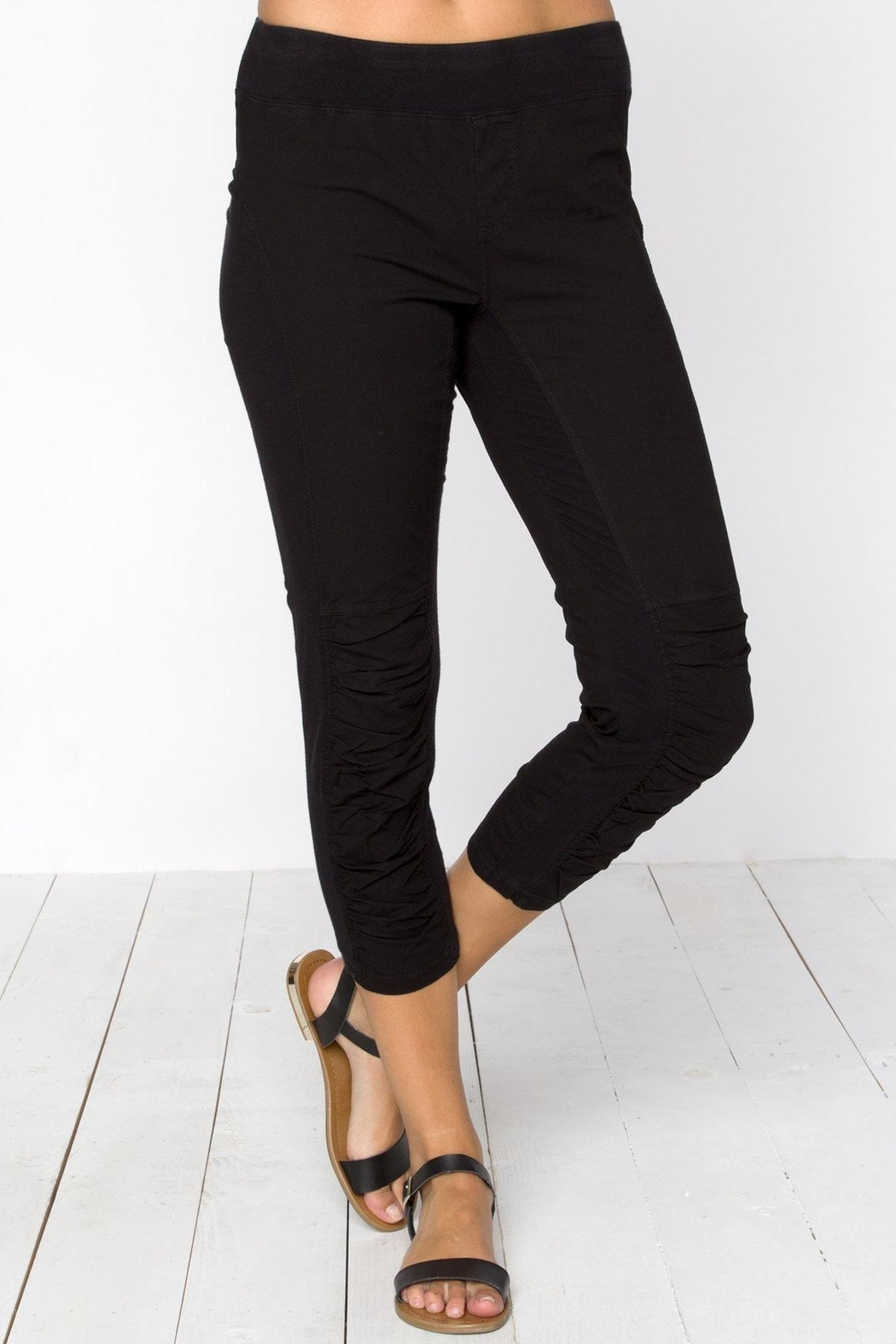 XCVI Wearables Ruched Crop Legging - Main Image