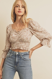 dress forum Ruched Front Blouse - Front cropped