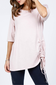 M-Rena  Ruched Front Detail Top - Product Mini Image