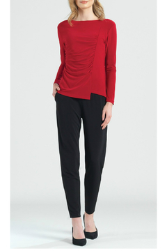 Clara Sunwoo Ruched Knit Top - Product List Image