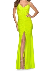 La femme Ruched Jersey Gown - Product Mini Image