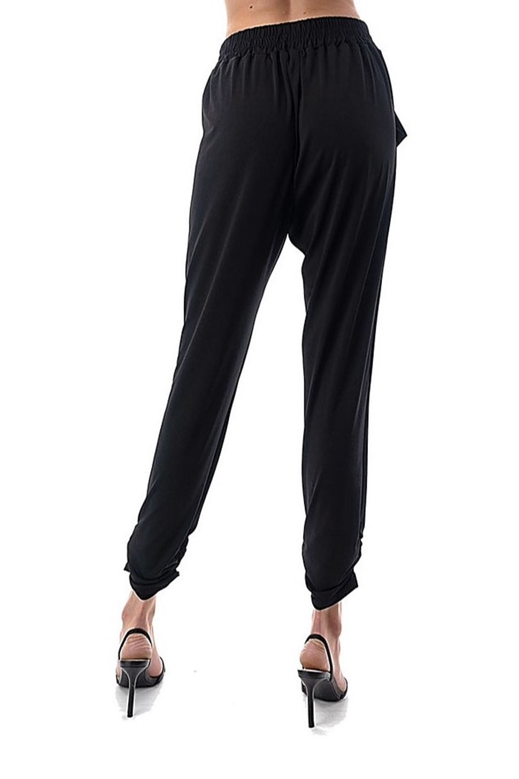 Ariella Ruched Jogger - Side Cropped Image