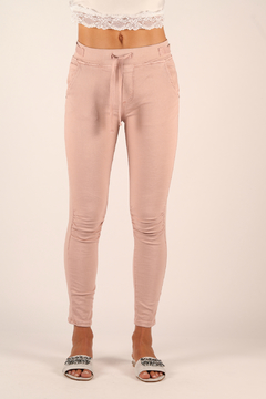 Shoptiques Product: Ruched Jogger with Tie Waist