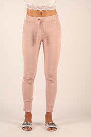 Femme Fatale Ruched Jogger with Tie Waist - Product Mini Image