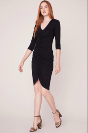 BB Dakota Ruched Knit Dress - Product Mini Image