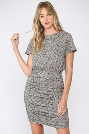 FATE by LFD Ruched Leopard Dress - Product Mini Image