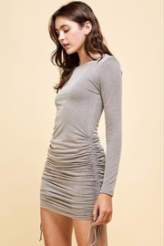 Livana Ruched Long Sleeve Mini - Side cropped