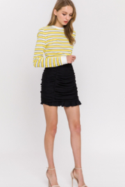 Endless Rose Ruched Mini Skirt - Front full body
