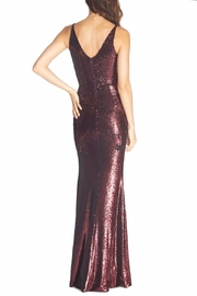 Dress the Population Ruched Sequin Mermaid Dress - Side cropped