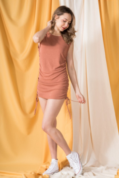 Very J Ruched Side Dress - Product List Image