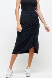 Wasabi + Mint Ruched Side Skirt - Product Mini Image