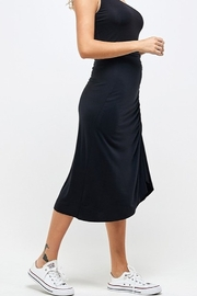 Wasabi + Mint Ruched Side Skirt - Front full body