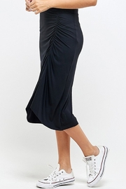 Wasabi + Mint Ruched Side Skirt - Side cropped