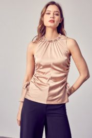 Do + Be  Ruched Side Top - Product Mini Image