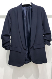 Venti6 Ruched Sleeve Blazer - Product Mini Image