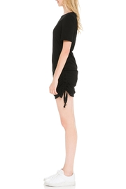 After Market Ruched T-Shirt Dress - Front full body