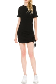 After Market Ruched T-Shirt Dress - Front cropped