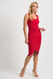 Joseph Ribkoff Ruched Tank Dress - Front cropped