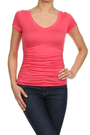 Bozzolo Ruched Top - Front cropped