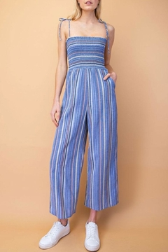 storia Ruched Top Jumpsuit - Product List Image