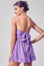 Do + Be  Ruched Top Romper - Side cropped