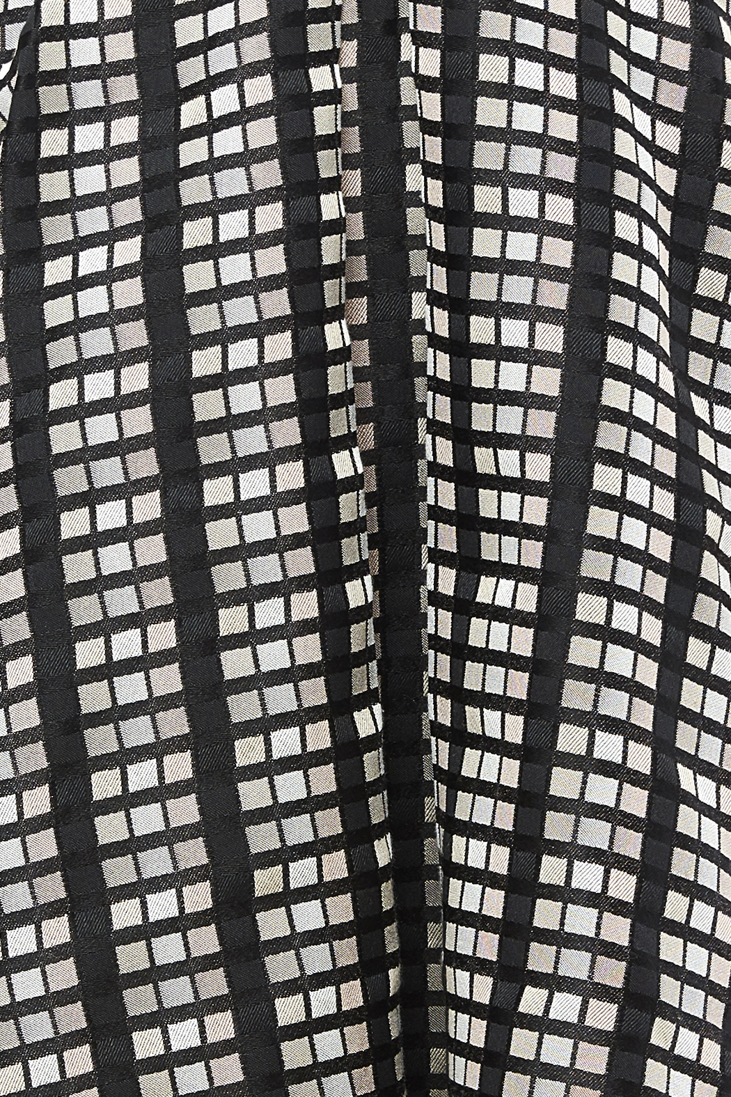 Rue De La Baile Geo Checkered Skirt - Side Cropped Image