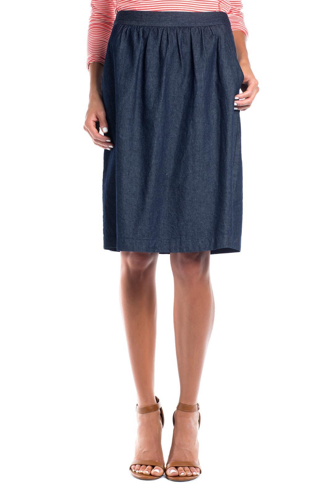 Ruelle Boutique Blue Jean Skirt from Vermont — Shoptiques