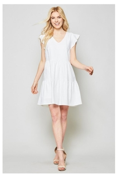 No Label  Ruffle Babydoll Dress - Alternate List Image