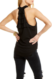 Chaser Ruffle Back Mock Neck Tank - Product Mini Image