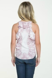 Chaser Ruffle Back Tank - Front full body