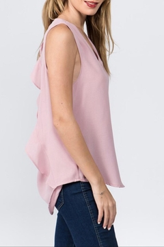 Milk & Honey Ruffle Back Tank - Alternate List Image