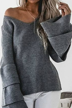 R+D Hipster Emporium  Ruffle Bell Sleeve - Product List Image