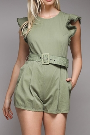 Do & Be Ruffle Belted Romper - Product Mini Image