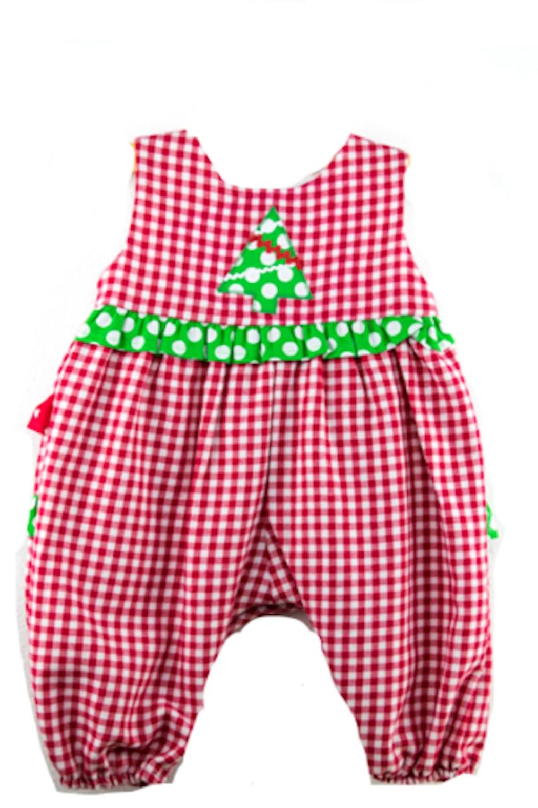 funtasia too Ruffle Bottom Romper - Front Cropped Image