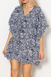 Lani Lau Hawaii Ruffle Butterfly Tunic - Product Mini Image