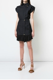 Nicole Miller Ruffle Button Dress - Product Mini Image
