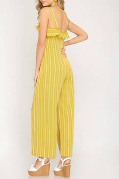 She + Sky Ruffle Button Jumpsuit - Alternate List Image