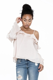 Ark & Co. Ruffle Cold Shoulder - Other