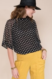 Ivy Jane  Ruffle Collar Blouse - Product Mini Image