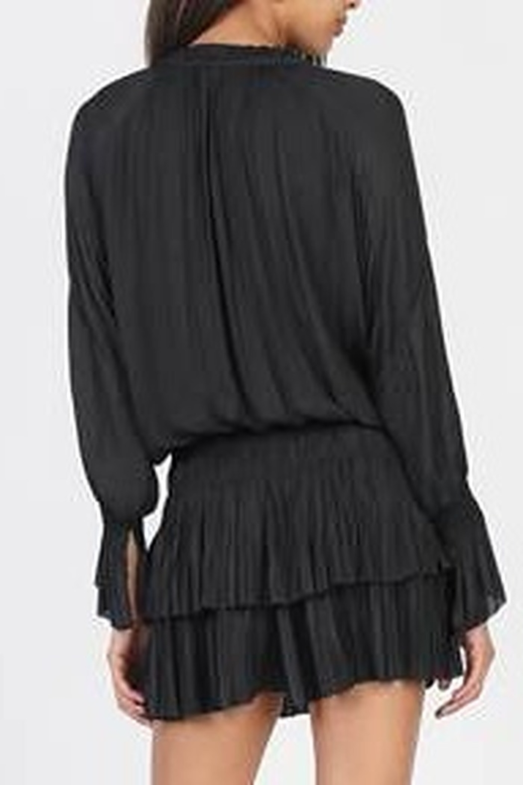 Current Air  Ruffle Collar Dress - Front Full Image