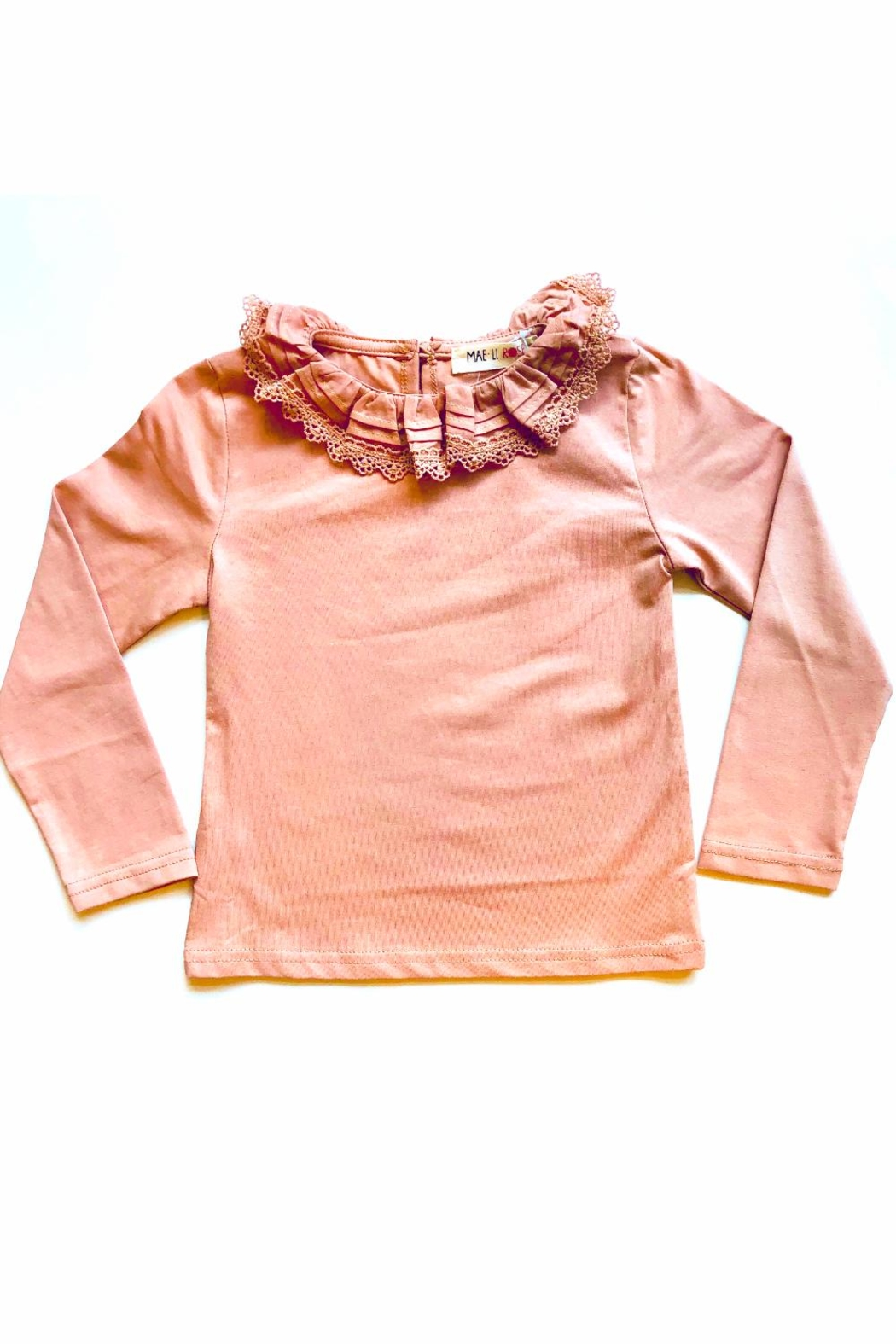 Maeli Rose Ruffle Collar Top - Main Image