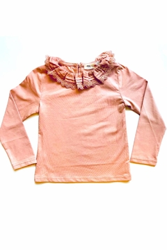 Maeli Rose Ruffle Collar Top - Product List Image