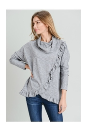 Doe & Rae Ruffle Cowl/neck Top - Product Mini Image