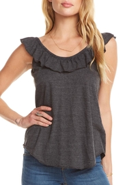 Chaser Ruffle Crossback Tank - Product Mini Image