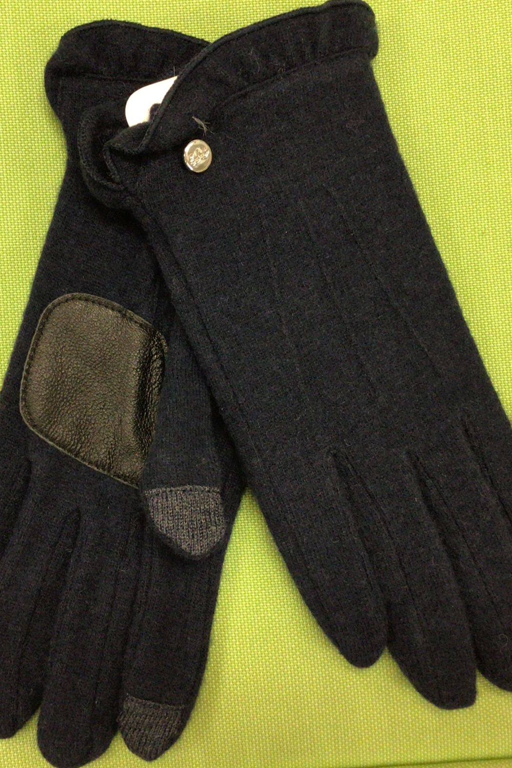 Echo Design Ruffle Cuff Touch Glove - Front Cropped Image