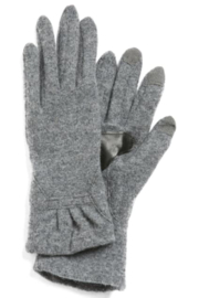 Echo Design Ruffle Cuff Touch Glove - Front cropped